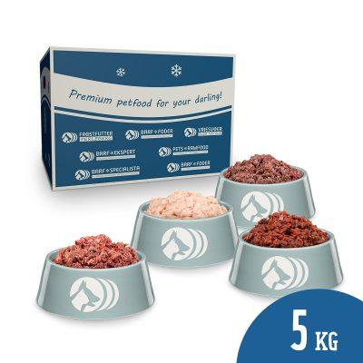 Barf kant- en klaar pakket (KVV) - 5 kg.