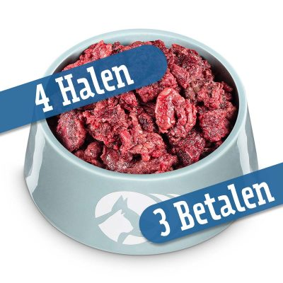 Rundernekvlees - neem 4, betaal 3