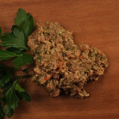 Barf KVV gourmetmenu kalkoen met spinazie