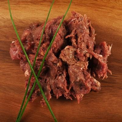 Viande hachée de muscle de cheval