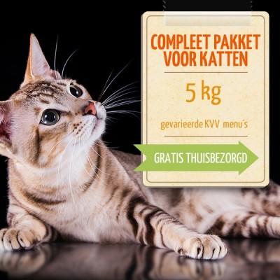 Kant- en klaar pakket voor katten (5 kg)