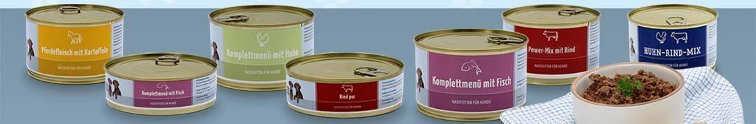 Kant en klaar menus (Hond)